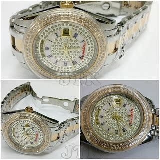Jam Tangan Wanita Rolex Cosmo Gold Color Fashion rolex datejust romawi stainless gold silver kw