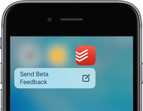 ios  testflight send beta feedback  touch iphone  screenshot  idownloadblogcom