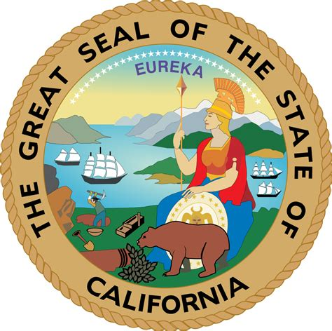 California State Records File Seal Of California Svg Wikimedia Commons