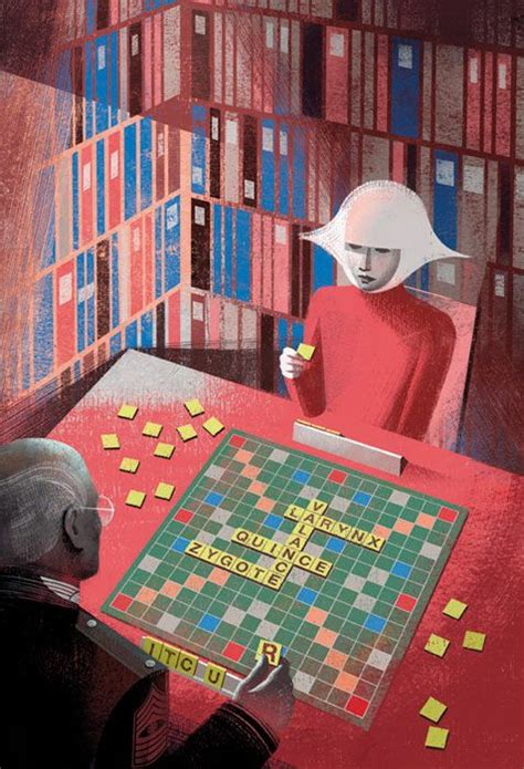 Illustration Of The Scrabble In The Handmaid S Tale