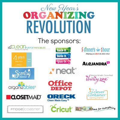 new year s organizing revolutions week 3 organize and new year s organizing revolution week 5 clean mama
