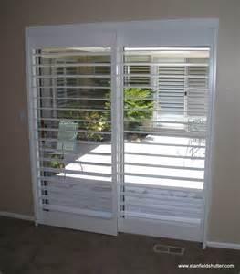 Patio Door Security Shutters Interior Window Shutters For Patio Doors Shutters With A Clearview Through A Patio Door Rodless