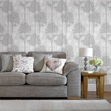 Tapeten Wohnzimmer Grau by 17 Best Ideas About Grey Wallpaper On Bedroom