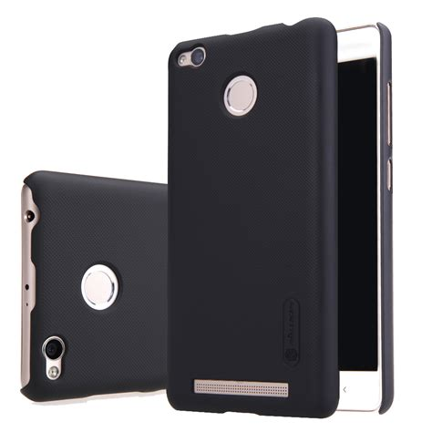 Nillkin Frosted Shield Xiaomi Redmi 3 Black nillkin frosted shield for xiaomi redmi 3