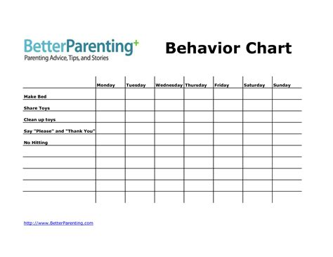 best photos of behavior modification charts behavior