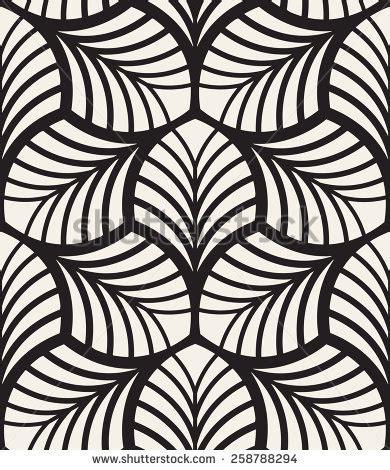 graphic pattern motif vector seamless pattern monochrome graphic design stock