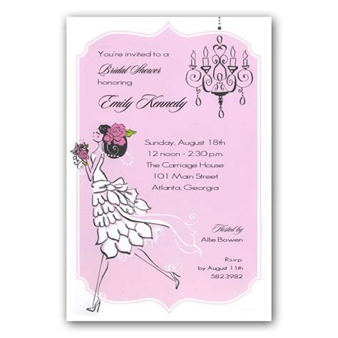 Vintage Bridal Shower Invitations by Weiss Vintage Bridal Shower Invitations Paperstyle