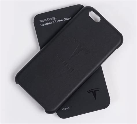 Tesla Iphone Tesla Launches Branded Iphone Cases Made From Leftover