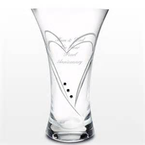 swarovski vases personalised swarovski vase 44 99 free uk delivery