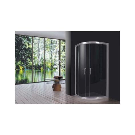 box doccia 80x80 box doccia bagno in cristallo trasparente semicircolare