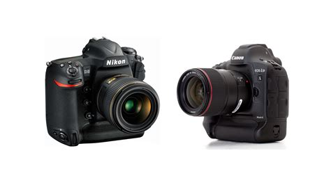 canon or nikon nikon d5 vs canon 1d x ii specs comparison