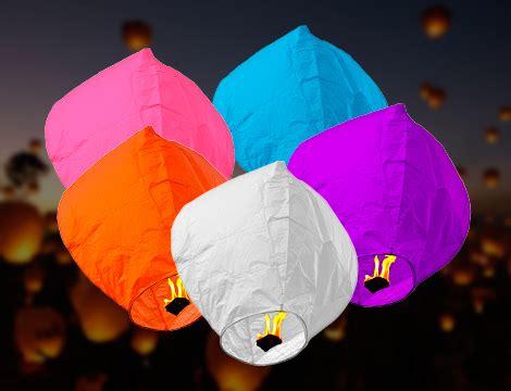 lanterne volanti torino offerta shopping kit lanterne volanti groupalia