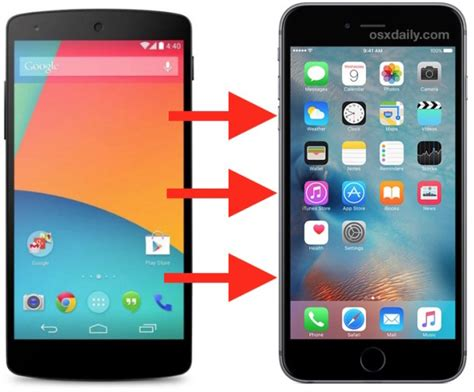 android on iphone how to migrate android to iphone the easy way