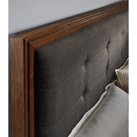 queen upholstered bed  bench storage footboard  signature design  ashley wolf furniture