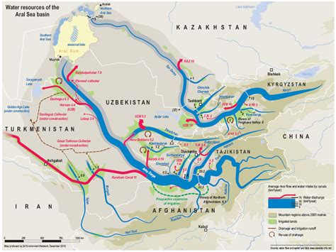 russia map aral sea water resources in russia class