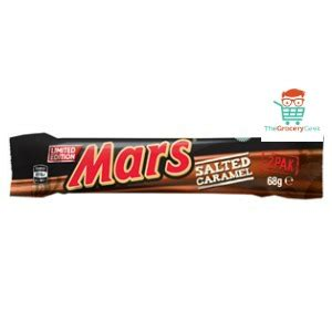 Mars Salted Caramel the grocery mars bar limited edition salted caramel