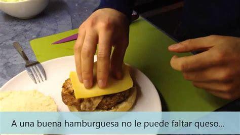 cocina sencilla casera cocina sencilla hamburguesa casera youtube