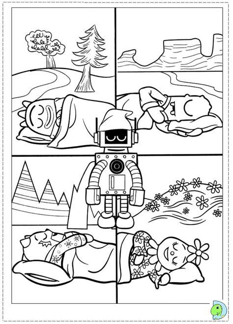 yo gabba gabba coloring page dinokids org