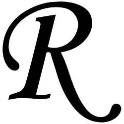 ... Letter Formal R, The Letter R Clipart, and Decorative Letter R Clipart R