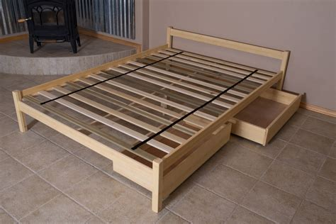 Bed Frame Supports For Wooden Bed Wood Sles Bed Frames Dave Cady S Nomad Furniture