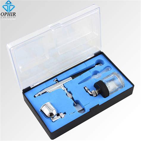 Alat Airbrush Make Up ophir kualitas tinggi 0 3 mm logam pro air brush kit hobi alat airbrush model semprot mobil