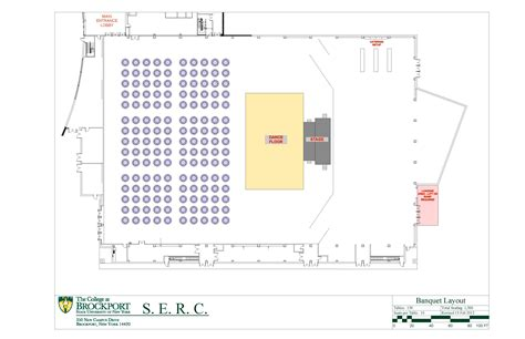 banquet layout plan images and videos the college at brockport