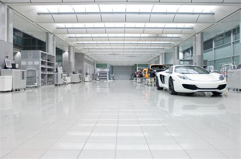 mclaren factory interior the mclaren factory is cleaner than any home i ve ever