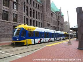 light rail minneapolis urbanrail net gt usa gt minneapolis st paul light rail