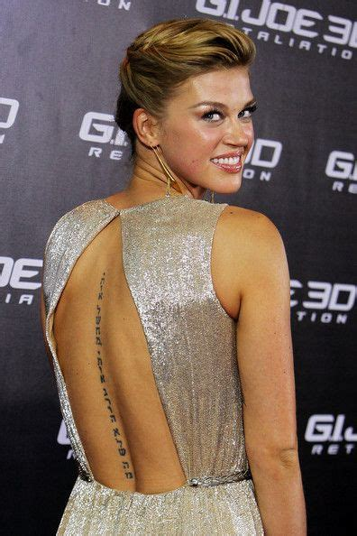 adrianne palicki tattoo 56 best famosos adrianne palicki images on