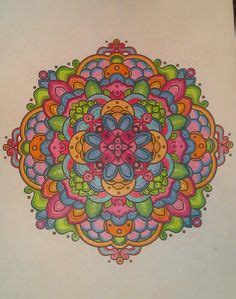crayola mandala coloring pages color completed crayola crazart mandala just add