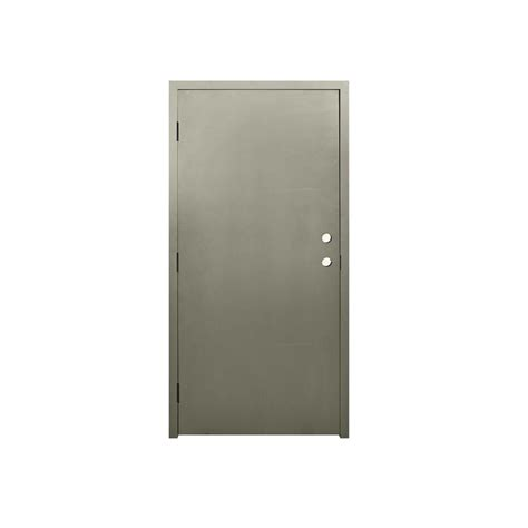 Commercial Door And Frame by Architectural Elements 36 In X 84 In Dks Flush Primed