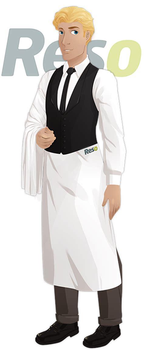 tenu cuisine tenue de travail du serveur de restaurant reso le
