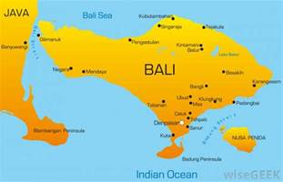 Bali World Map by Where Is Bali With Pictures