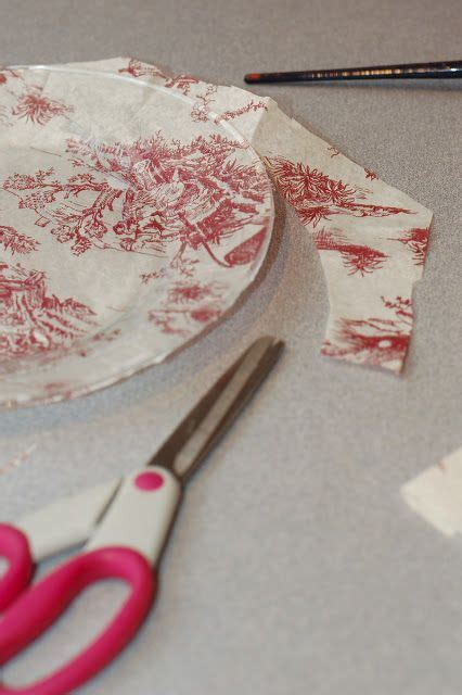 Make Your Own Decoupage Paper - diy project how to make your own custom glass plates with