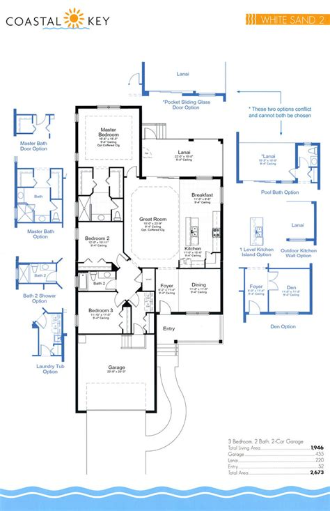 Floor Plan Key | coastal key floor plans