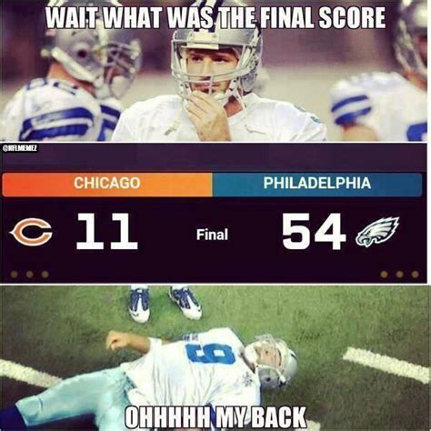 Tony Romo Injury Meme - nfl memes on twitter quot the reason behind tony romo s back