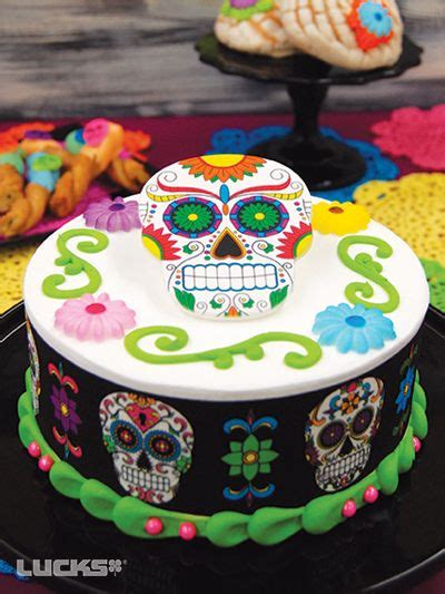 item number diadelosmuertosdaisiescake halloween cakes