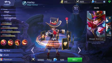 mobile legends harley best skill harley item build and strategy guide mobile