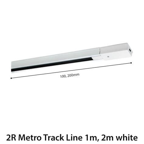 Lu Led Fsl tnl connector metro track p stright white