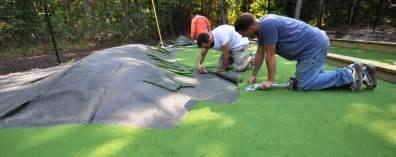 backyard putting green turf putting greens synthetic golf turf sport courts