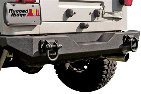 rugged ridge 11546 20 rugged ridge xhd rear bumpers