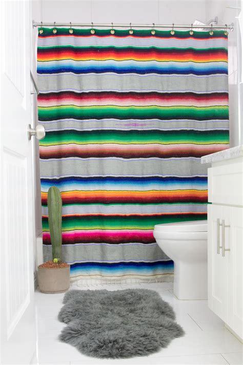 serape curtains diy serape shower curtain horses heels
