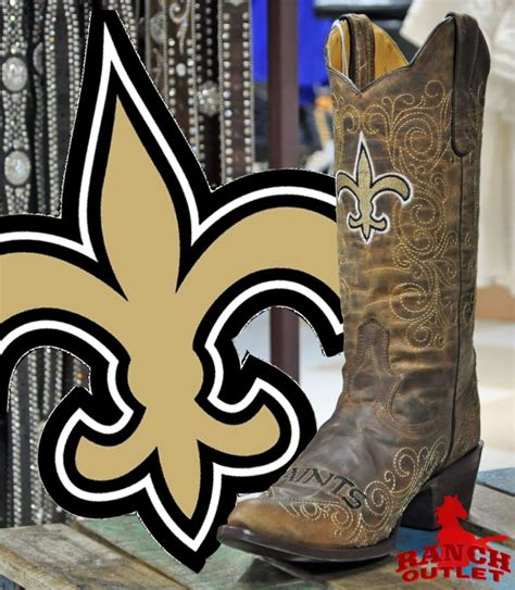new orleans saints boots s q 178 rem 179 mjn 179