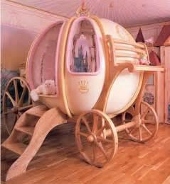 princess coach bed designs for toddler bedroom