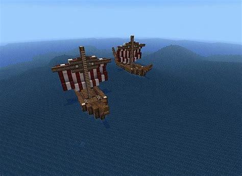 minecraft longboat viking longboat minecraft project