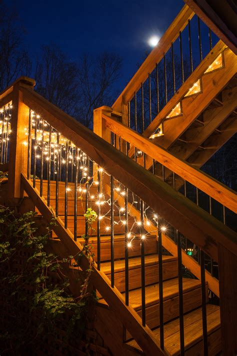 under deck lighting ideas under rail deck lighting ideas lighting ideas