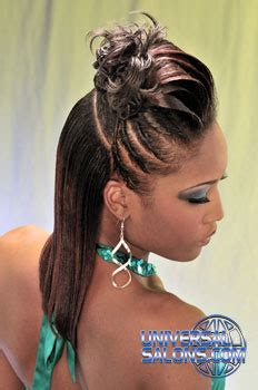 black hairstyles ridges up do s from carmelita hunter