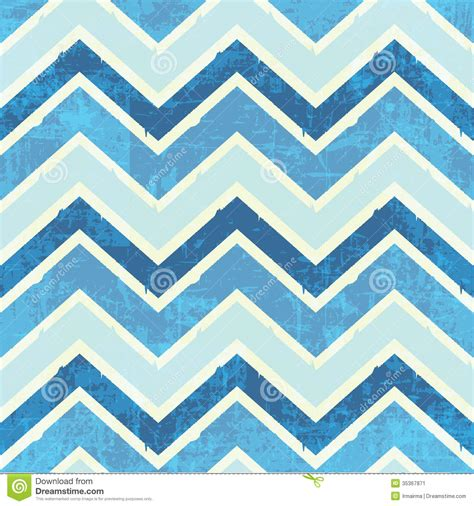 chevron pattern in blue chevron pattern in blue stock vector image of fabric