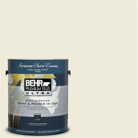 behr premium plus ultra 1 gal m440 4 summer dragonfly satin enamel interior paint 775401 the