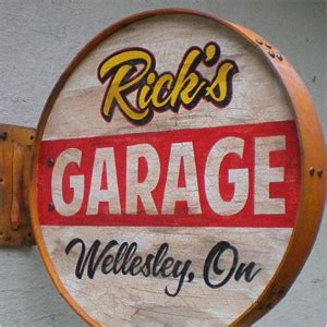Garage Sign by Best Of Etsy Personalized Gifts